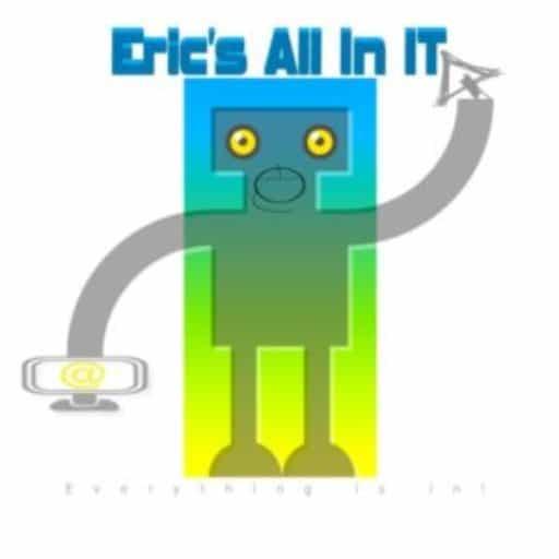 Bedrijf logo Eric's All-in IT | Eric's All In IT is uw partner op het gebied van systeembeheer voor MKB en ZZP, computerhulp, computer reparatie en kunt u een website laten maken